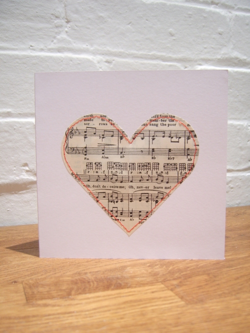 Love Song Valentine's Card