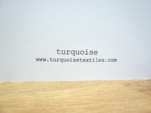 Turquoise Cards