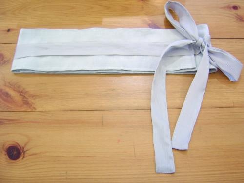 Wraparound fabric belt