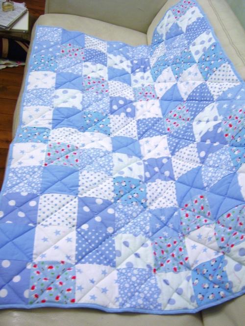 Patchwork quilt - detail