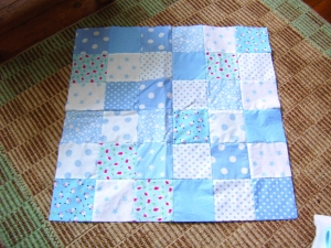 Patchwork quilt - in progress