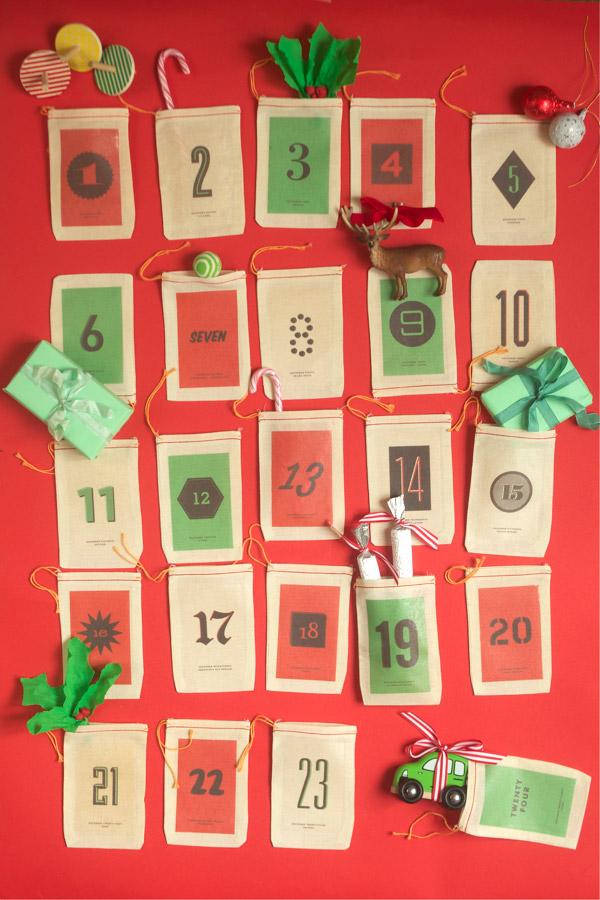 Handmade Advent Calendar Ideas   Turquoise Textiles