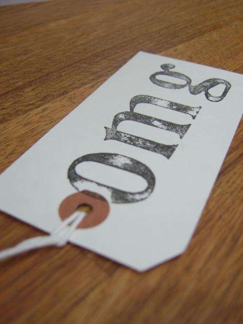 'OMG' gift tag