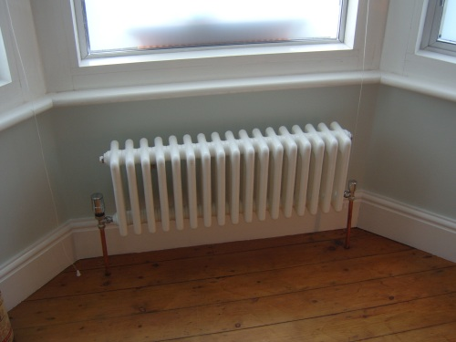 My favourite radiator. Thankyou, Homebase...