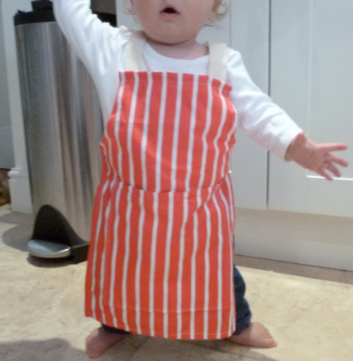 How to make a child's apron